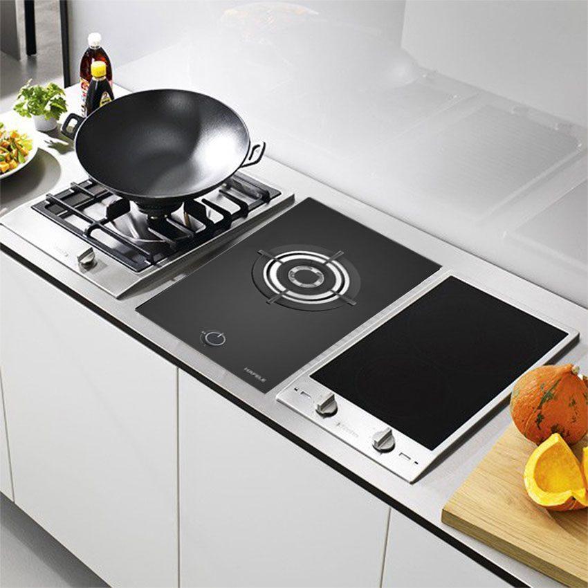 Thiết kế lắp âm hiện đại của bếp gas Domino Hafele HC-G301B