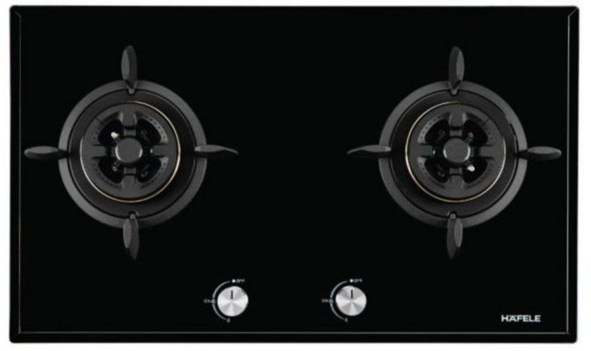 Bếp gas đôi âm kính Hafele HC-G802C